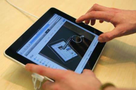 Emails Tablet