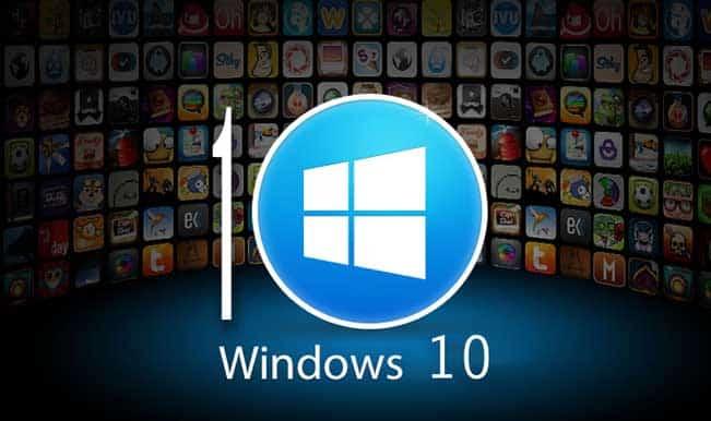 Microsoft Windows 10 Operating System